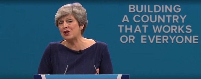 May's ill-fated speech and coping with interruptions in presentations